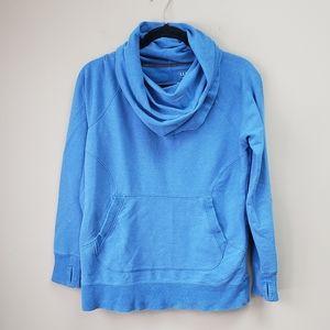 LL Bean Cozy Pullover Sweatshirt Cowl Neck